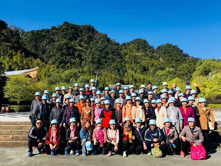 Wanhe 2018 Sanqing mountain tour in Jian