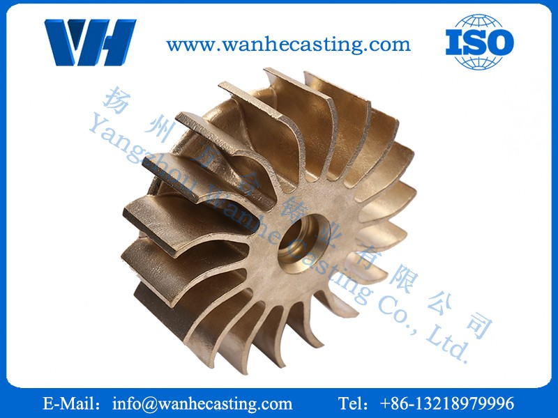 Precautions for the core molding process of copper castings(图1)